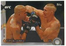 2015 Topps UFC Chronicles Silver Parallel #95 Rory MacDonald