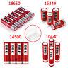 Lot EBL 3.7V 18650 16340 14500 10440 Rechargeable Batteries + Box For Flashlight