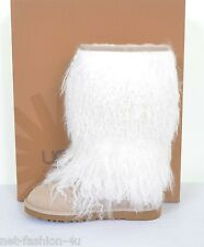 UGG Australia Pelle di Pecora POLSINO SABBIA Tall Stivali Scarpe UK 4,5 US 6 UE 37 RRP £ 350
