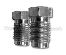 Hydraulic handbrake Unions Reducer Fit All Master Cylinders 1x7/16+1x3/8 fitment