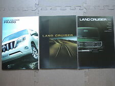 JDM TOYOTA LAND CRUISER 70 200 PRADO Original Sales Brochures Catalogs