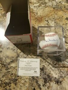 Authentic Autographed Duke Snider Baseball with COA