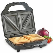 VonShef Toastie Maker 2 Slice Sandwich Toaster Machine Non-Stick Easy Clean 700W