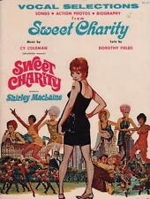 1969 Vintage Sweet Charity Shirley Maclaine Vocal Selections Photos Songs Bios