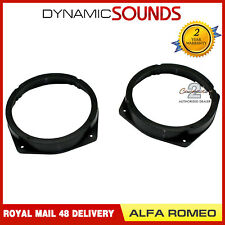 CT25AR02 165mm Front or Rear Speaker Ring Adaptors For Alfa Romeo 159 2005-2011