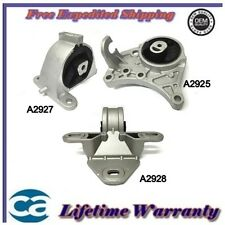 Motor & Trans Mount 3PCS 2001/2007 Dodge Caravan Chrysler  3.3L, 3.8L
