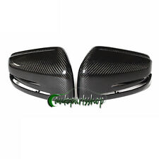 High Qualiy Real Carbon Fiber Mirror Covers For Mercedes C250 C350 C63 W204