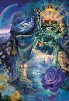 JOSEPHINE WALL ~ KEYS TO ETERNITY 24x36 FANTASY ART POSTER Fairy Fairies Owl