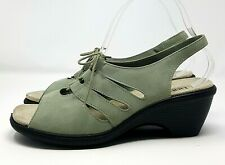 Hotter Ladies Comfort Concept Sandals UK 5.5 Pale Blue Suede Laced Sling Back