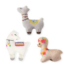 Fringe Studio Minis Llama Love 3-Piece Plush Dog Toy Set