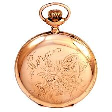 Womans Elgin Pocket Watch Ca1903 | 15 Jewel, 6 Size Hunter Case