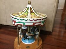 Tobin Fraley Willitts Limited Edition Carousel 4 Horse Waltz Carnival Music