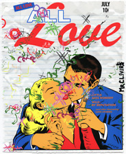 MR CLEVER ART POST APOCALYPTIC ALL LOVE NOTES street art deco urban graffiti pop