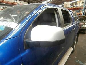 FORD RANGER LEFT DOOR MIRROR XLS, COLOUR CODED, MANUAL FOLDING, PX, 06/11-06/15