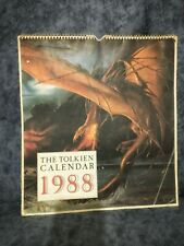 The Tolkein Calendar 1988 - Collectors Lotr - Lord of the Rings - The Hobbit