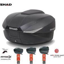 SHAD SH58X extensible moto top-box case 46 > 58 L Avec Carbone Housse + Plaque
