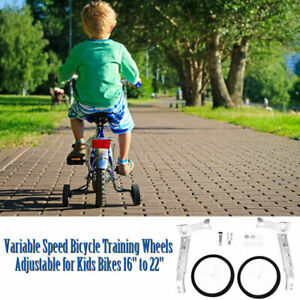 """16""""-22"""" Children's Bicycle Auxiliary Wheels Are Easy To Install And Adjustable"""