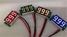 """Panel Mount Led Voltage Red 2.50~30V Voltmeter 0.36"""" Dc Digital Volt Meter Min M"""