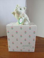 Collectible Department 56 Snowbabies Easter 1999 Kitten Cat Bisque Figurine