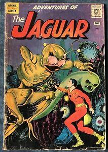 Adventures Of The Jaguar #2  Oct 1961