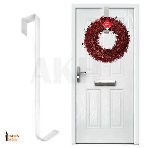 31cm Christmas Winter Wreath Door Hanger Metal Hook Xmas Decoration Reef Craft