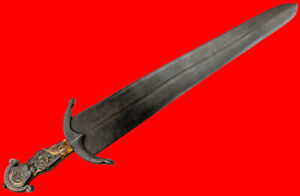 Very Rare 15th-16th C. Italian Civilian Aristocrat's CINQUEDA Short Sword Dagger