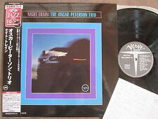 OSCAR PETERSON TRIO Night Train JAPAN LP Audiophile 180g UCJU-9024 w/OBI+INSERT