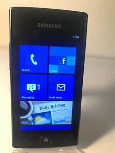 Samsung Omnia W GT-I8350 - 8GB - Black (Unlocked) Smartphone Windows Phone