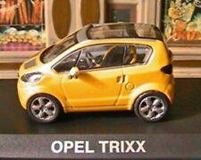 OPEL TRIXX CONCEPT CAR 1/43 NOREV ALTAYA JAUNE YELLOW GERMANY GELB