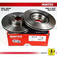 2X MINTEX FRONT DISC BRAKES MDC1736 FIAT (GRANDE) PUNTO OPEL VAUXHALL ADAM CORSA
