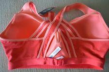 Victoria's Secret sports bra VSX Incredible 38C strappy mesh orange
