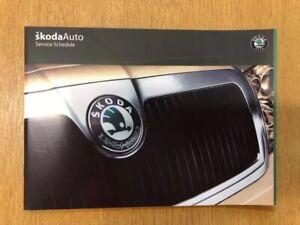 Skoda SUPERB service book brand new not dupliacte all models covered VRS TDI