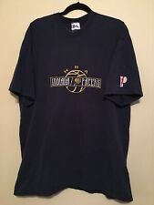 Vintage Nba Indiana Pacers Navy Blue Basketball T-Shirt Size Xl Reggie Miller