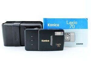 Konica Lexio 70 Point & Shoot 35mm Zoom Film Camera [Near Mint] #851114A