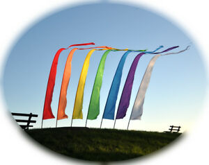 Spirit of Air Festival Banners 3.75m Flag Kit with Pole & Ground Stake - Camping