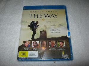 The Way - Martin Sheen - New Sealed Blu-Ray - Region B