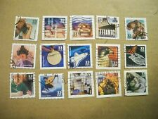 USA Used, 2000 Issue1990's Celebrate the Century, (Set of 15)