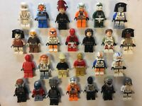Lego Minifigure Bulk Lot of 10 Random Mixed Star Wars Figures