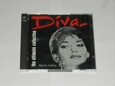 Diva The Ultimate Collection Maria Callas. 30 Tracks On 2 CD's EMI Records 1996.
