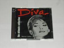 Diva The Ultimate Collection Maria Callas. 30 Tracks On 2 CD's EMI Records 1996.