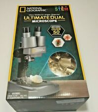 National Geographic Ultimate Dual Student Microscope (includes 50 Accessories)