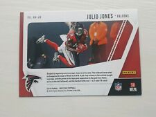 2019 JULIO JONES ATLANTA FALCONS PANINI PRESTIGE HIGHLIGHT REEL #HH-JN NFL CARD