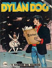 DYLAN DOG=N°39 10/1992 PRIMA RISTAMPA=IL SIGNORE DEL SILENZIO
