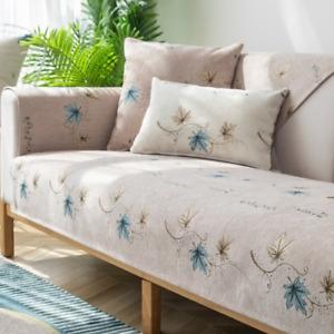 SofaCover Cushion Four Seasons Non-slip Backrest Armrest Towel Modern CouchCover