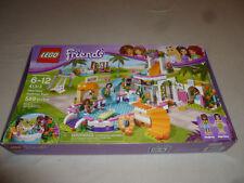 New In Box Lego Friends Set 41313 Heartlake Summer Pool Nib 589 Pcs Figures