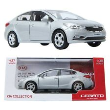 PINO B&D KIA CERATO 1:38 Die-cast Miniature Display car Silver Color TOY