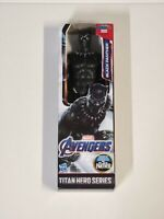 """Marvel Avengers Titan Hero Series Black Panther 12"""" Action Figure New In Box"""