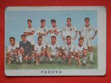 VECCHIA FIGURINA RASA calcio football 1961 PADOVA