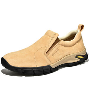 Mens Outdoor Hiking Sneakers Loafers Shoes Climbing Trekking Soft Casual 38-46 L