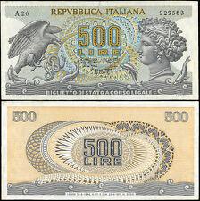 500 Lire Testa di Aretusa 23/4/1975 Miconi - Canfora - Berti - RR